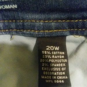 Stonewash Blue denim jeans